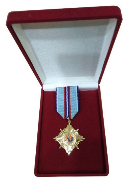 Honorary medal of the international police Association 2013