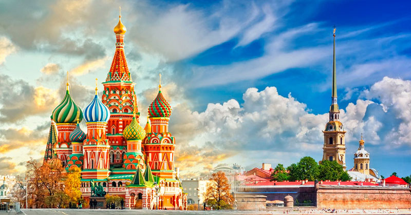 Moscow and St. Petersburg (8 days // 7 nights)